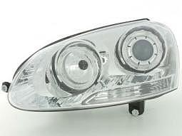 Scheinwerfer Angel Eyes Set VW Golf 5 ..