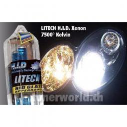 LITECH H4 / 55W XENON H.I.D Vision