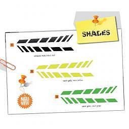 FOLIATEC Cardesign Sticker - SHADES - neon gr??n, 9 x 77 cm