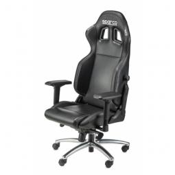 SPARCO Bürostuhl R100S inkl. Konsole Kunstleder schwarz/schwarz