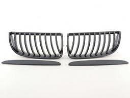 Sportgrill Frontgrill Grill BMW 3er Limousine Typ E90 Bj. 05-09 Carbon Look